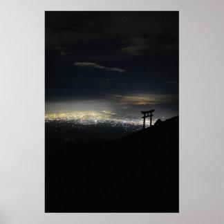 Mt. Fuji Ascent Poster