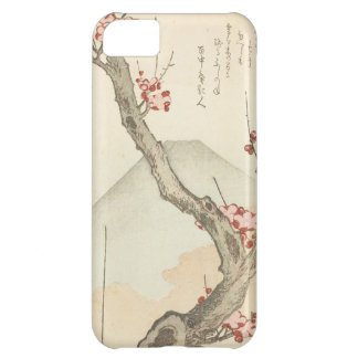 Mt. Fuji Behind a Blossoming Plum Tree Cover For iPhone 5C