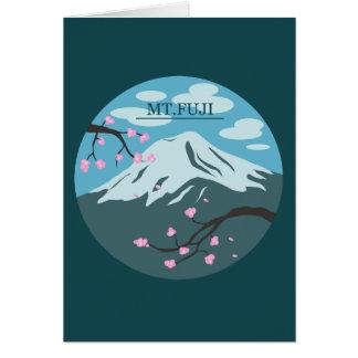 Mt. Fuji Card