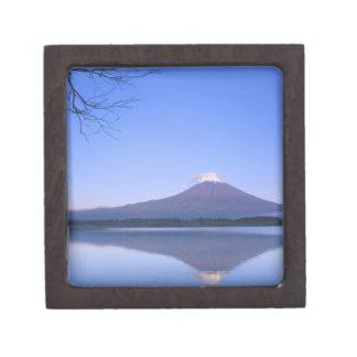 Mt. Fuji from Motosu Lake, Yamanashi, Japan Jewelry Box