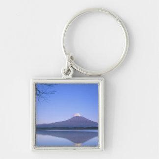 Mt. Fuji from Motosu Lake, Yamanashi, Japan Keychain