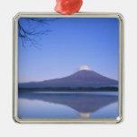 Mt. Fuji from Motosu Lake, Yamanashi, Japan Christmas Tree Ornaments