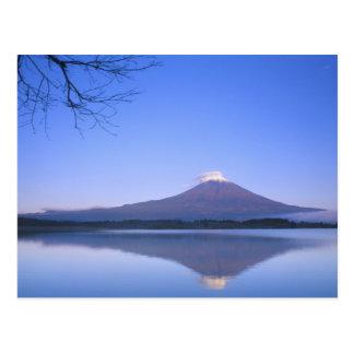Mt. Fuji from Motosu Lake, Yamanashi, Japan Postcard