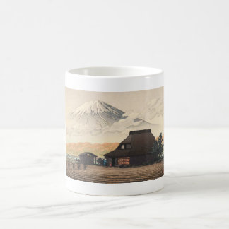 Mt. Fuji from Narusawa Hasui Kawase shin hanga art Classic White Coffee Mug