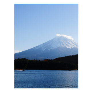 Mt Fuji Fuji Lake Kawaguchi Postcard