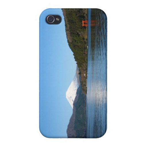 Mt Fuji iPhone 4 Protectores