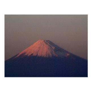 Mt. Fuji in Japan Postcard
