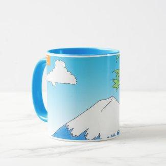 Mt Fuji Mug