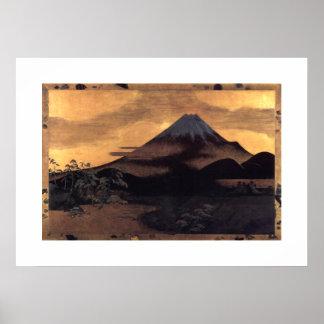 Mt Fuji Póster