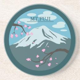 Mt. Fuji Sandstone Coaster
