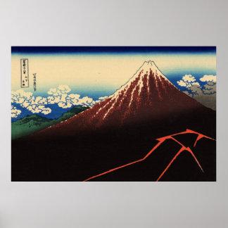 Mt. Fuji view 03 poster