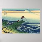 Mt. Fuji view 32 poster