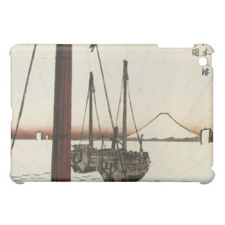 Mt Fuji viewed from a Boat circa 1800s iPad Mini Cover