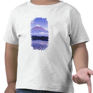 Mt Fuji with Lenticular Cloud Motosu Lake Tee Shirts