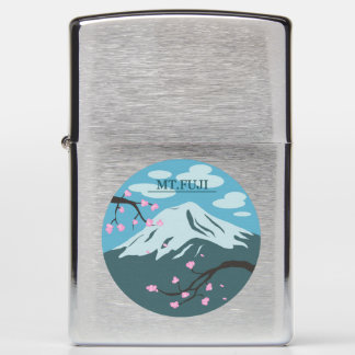 Mt. Fuji Zippo Lighter