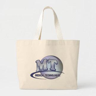 MT FunBlue LOGO - MEDICAL  TECHNOLOGIST LABORATORY Canvas Bags