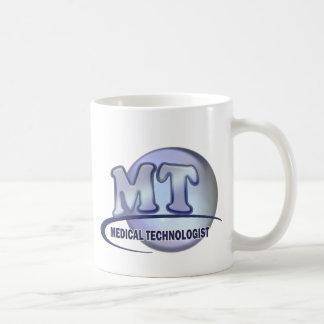 MT FunBlue LOGO - MEDICAL  TECHNOLOGIST LABORATORY Coffee Mug