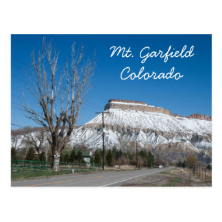 Mt. Garfield, Colorado Postcard