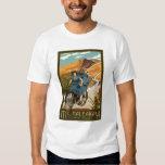 Mt. Haleakala Bicycle Rides Hawaii T-Shirt