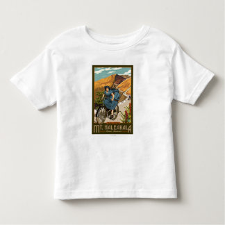 Mt. Haleakala Bicycle Rides Hawaii Toddler T-shirt