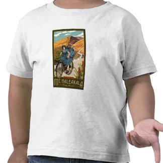 Mt Haleakala Bicycle Rides Hawaii Tee Shirts