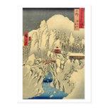 Mt Haruna Kozuke Tarjeta Postal