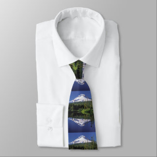 Mt. Hood And A Mirror Lake Tie