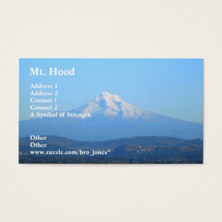 Mt. Hood Business Card