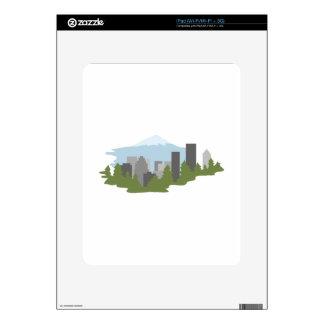 Mt. Hood Decals For iPad