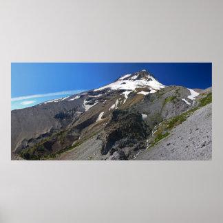Mt. Hood from Gnarl Ridge Print