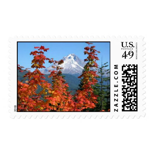 Mt. Hood in Fall Stamp