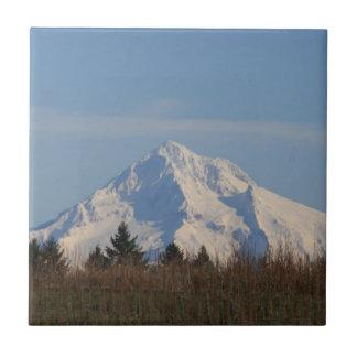 Mt Hood, Oregon Ceramic Tile