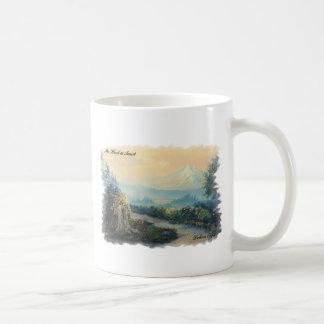Mt Hood Oregon Coffee Mug Original Prints Basic White Mug