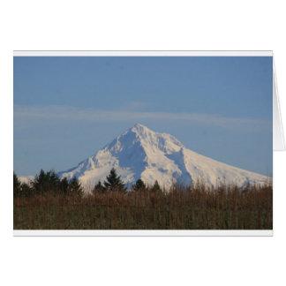 Mt Hood, Oregon Greeting Card