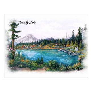 Mt Hood Oregon Original Prints Dolores Egger Postcard