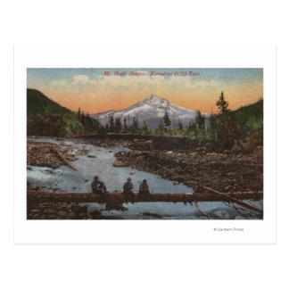 Mt. Hood, Oregon Postcard