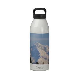 Mt Hood, Oregon Reusable Water Bottle
