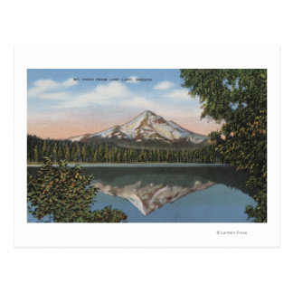Mt. Hood, Oregon - View of Mountain from Lost Postcard