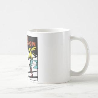 MT. HOOD OREGON - VINTAGE TRAVEL COFFEE MUG