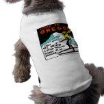 MT. HOOD OREGON - VINTAGE TRAVEL DOG CLOTHING