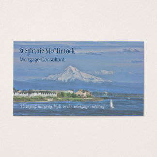 Mt Hood Painted, Mortgage... Business Card