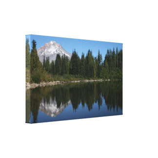 Mt. Hood Reflected in Mirror Lake Canvas Prints