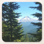 "Mt Hood Square Paper Coaster<br><div class=""desc"">Mt Hood from Veda Lake</div>"