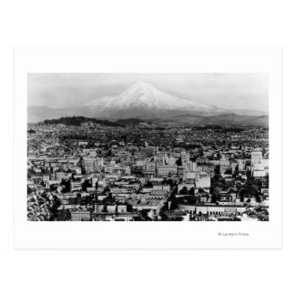 Mt. Hood View from Portland, Oregon Photograph Post Card