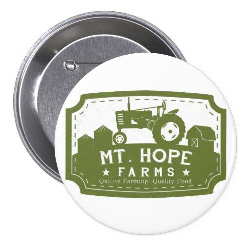 Mt. Hope Farms Button