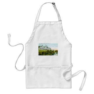 Mt. Hotel agradable, montañas blancas, New Hampshi Delantal