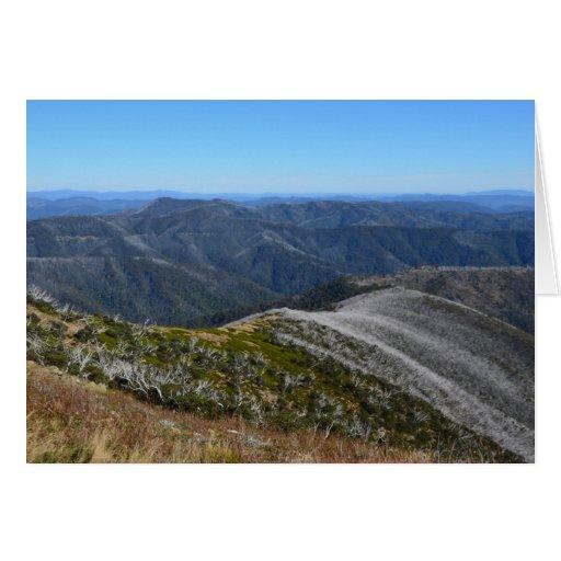 Mt Hothum Tarjeta Pequeña