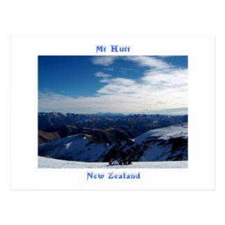Mt Hutt, New Zealand Postcard