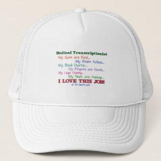 MT I Love This Job Trucker Hat