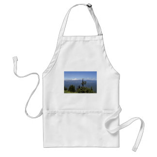 Mt. Jefferson from Black Butte Adult Apron